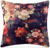 "Tracy Porter Fleur Velvet 18"" Square Decorative Pillow Bedding"