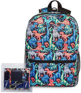 LICENSED PROPERTIES Dino Print Back Pack with Power Bank