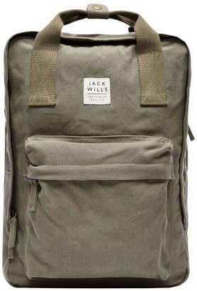 Jack Wills Haltwhistle Graphic Backpack
