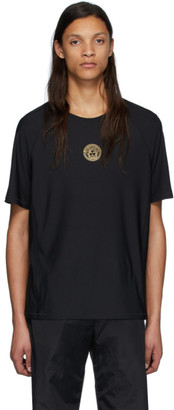 Versace Underwear Black Iconic Medusa Sport T-Shirt
