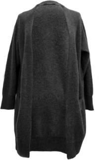 Oh Simple - Dark Grey Long Cashmere Cardigan - xs | dark grey - Dark grey