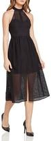 BCBGeneration Lace Midi Dress