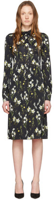 Erdem Black Tullio Dress