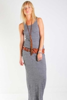 Nightcap Clothing Cat Tease Maxi Dress in Charcoal
