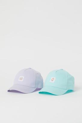 H&M 2-Pack Cotton Caps