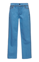 Tory Burch Jodie Embroidered Jean