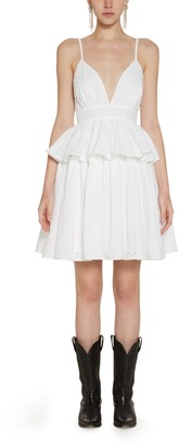Amotea White Margherita Sangallo Dress