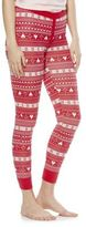 F&F Fair Isle Lounge Leggings, Women's