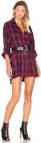 Publish Lynda Button Up Shirt Dress