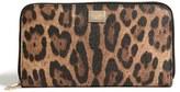 Dolce & Gabbana Zip Continental Wallet
