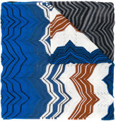 Missoni zigzag knitted scarf - women - Acrylic/Wool - One Size