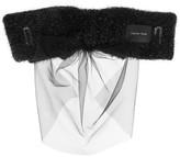 Simone Rocha Tinsel bow and tulle veil