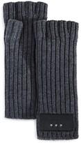 John Varvatos 2x2 Rib Knit Gloves