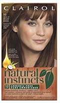 Clairol Natural Instincts, 5G / 18 Pecan Medium Golden Brown, Semi-Permanent Hair Color, 1 Kit (Pack of 3)