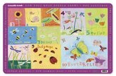 Crocodile Creek Placemat - Garden 123 [Toy]