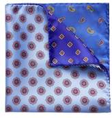 Eton Four Panel Silk Pocket Square