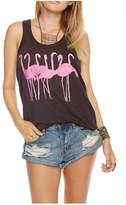 Chaser Flamingo Tank Top