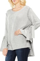 Women's Two By Vince Camuto Tie Sleeve Sweater