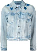 Givenchy star print bleached jacket