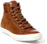 Polo Ralph Lauren Geffron Suede High-Top Sneaker