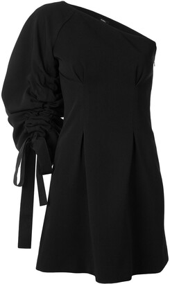 GOEN.J One-Shoulder Mini Dress