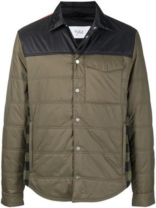 Aztech Mountain Loge Peak quilted shirt jacket