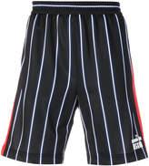 MSGM striped shorts