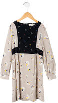 Stella McCartney Girls' Printed Long Sleeve Dress