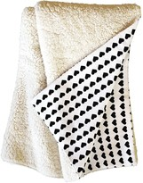 Deny Designs Allyson Johnson Tiny Little Hearts Fleece Throw Blanket