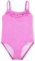 Elizabeth Hurley Beach Kids heart print one-piece swimsuit
