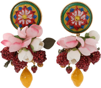 Dolce & Gabbana Ornate Earrings