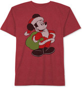 Disney Mickey Mouse Santa Mickey T-Shirt, Big Boys (8-20)