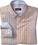 Johnston & Murphy Triple Line Check Button-Down Collar Shirt