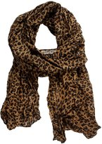 VVTS Brand Fashion Leopard Pattern Shawl Scarf Wrap for Women