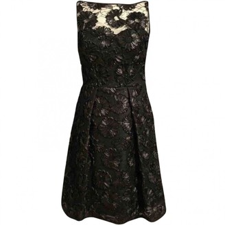 Theia Black Lace Dress for Women