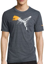Puma Scratch Out Short-Sleeve Graphic Tee