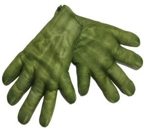 BuySeasons Avengers 2 - Age of Ultron: Hulk Little and Big Boys Gloves Accessory