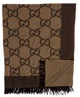 Gucci Guccissima Throw Blanket