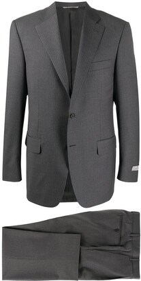 Canali Pinstripe Two-Piece Suit
