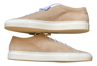 Common Projects Camel Suede Trainers