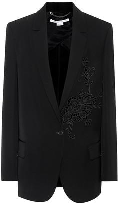 Stella McCartney Embroidered blazer