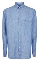 Paul & Shark Pin Dot Linen Shirt