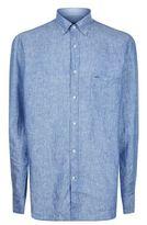 Paul & Shark Pin Dot Linen Shirt