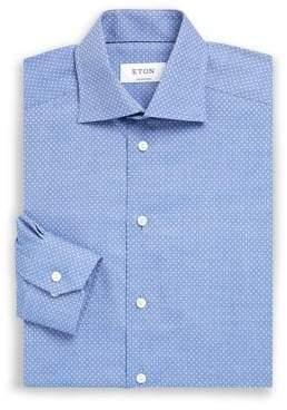 Eton Slim-Fit Printed Dress Shirt