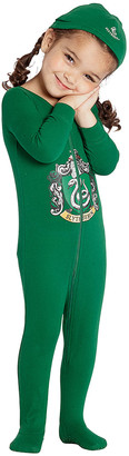 Intimo Footies P0056 - Harry Potter Green Slytherin Footie Pajama & Beanie - Infant