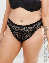 Yours All Over Lace Thong