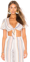 Beach Riot Cori Top in White. - size M (also in S,XS)