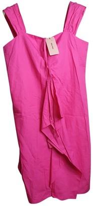 Miu Miu Pink Cotton Dresses