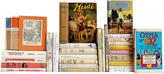 One Kings Lane Vintage Pastel Children's Classics, Set of 30