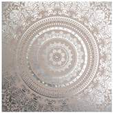 Graham & Brown Embellished Cocoon Fabric Canvas – 80 x 80 cm